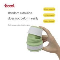 Buy cheap Portable Mini outdoor Travel Silicone Drinking Cup Retractable Collapsible coffee from wholesalers