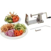 China Appliances Maxam Stainless Steel Vegetable Spiral Slicer wholesale