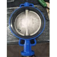 Ductile Iron Cf8m Disc Wafer Butterfly Valve For Cement