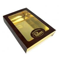 China Luxury Gold Chocolate Packaging Box Cardboard Display wholesale