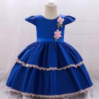 China Wholesale Baby Party Wear First Communion Gowns Small Baby Birthday Summer Dresses L1872XZ wholesale