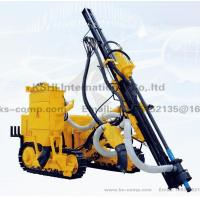 DSH5 Crawler mounted high pressure drill rig with dust collector
