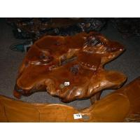 Root carving furnishing articles