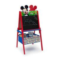 China Eco-Friendly School Furniture Wooden Kids Drawing Board Children Easel Set wholesale