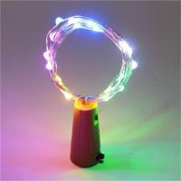 China RGB Flashing Functions Wine Cork Lights wholesale