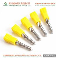 China single flute solid carbide end mill for steel wholesale