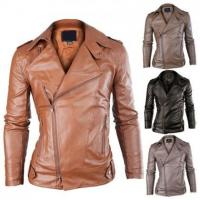 Buy cheap Men Leather Jacket from wholesalers