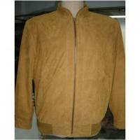 Buy cheap Suede Men Jacket from wholesalers