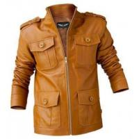 Buy cheap Leather Coat Jacket from wholesalers