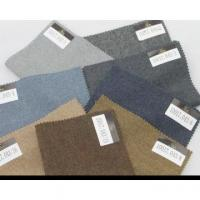 Buy cheap made to measure plain wool/cashmere fabric for clothes from wholesalers
