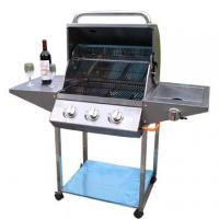 Buy cheap Classic design Full stainless steel 3-burners Gas Grills from wholesalers