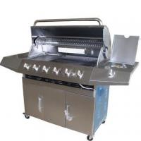 Buy cheap 6-burners Stainless steel Gas Grills with infrared burner from wholesalers