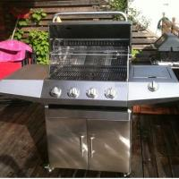 Buy cheap Full Stainless steel 4-Burners Gas BBQ Grills from wholesalers