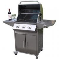 Buy cheap Full Stainless steel 3-Burners Gas BBQ Grills from wholesalers