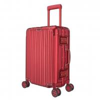 Buy cheap Shunxin High Quality Red Aluminum Alloy Luggage Custom from wholesalers