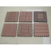 China DIY Composite Deck Tiles for Bathroom on sale