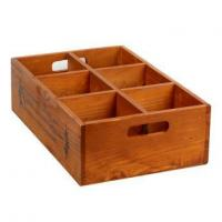 China Wooden Storage Boxes With Compartments wholesale