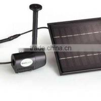 China garden Pond Fountain pump with Solar Pad wholesale
