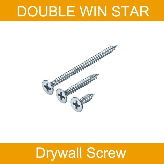China Bugle Head Drywall Screw (Double Thread)