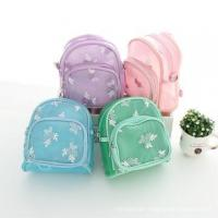 China baby one piece mint green blue pink purple backpacks for children school studying bags wholesale