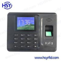 China Time Attendance Fingerprint Time Record Machine with Free Sdk and Software wholesale
