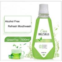 Quality Green Tea Flavor Mouthwash Supplier In China for sale