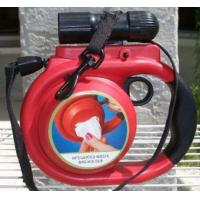 China Dog products RETRACTABLE DOG LEASH 30 LBS-NEW with FLASHLIGHT wholesale