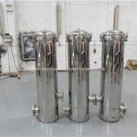 Buy cheap O-rings Or Flat Gasket Stainless Steel Cartridge Filter Housing SUS 304 / SUS 316L from wholesalers
