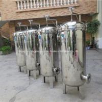 Buy cheap Stainless Steel 304 / 316 Water Purifier Single Bag Filter Housing For Food Industry from wholesalers