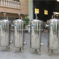Buy cheap 304 And 316L Stainless Steel Bag Filter Housing Gas Dust Removal Device from wholesalers