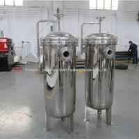 Buy cheap Bag Type Filtration Equipment Cooking Oil Filter For Edible Oil Filtration from wholesalers