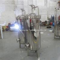 Buy cheap Stainless Steel Water Treatment Bag Filter / Swimming Pool Filter from wholesalers
