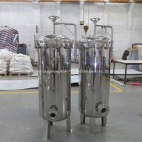 Buy cheap Stainless Steel Housing Bag Cartridges Filter With Filtration Skid Systems from wholesalers