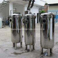 Buy cheap Sanitary Liquid Single Bag Filter Stainless Steel Bag Filter For Chemical Liquid from wholesalers
