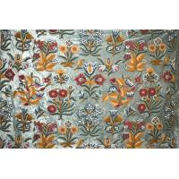 Buy cheap Custom Made Crewel Embroidered Fabric #3362 from wholesalers