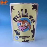 Buy cheap 180ml Aluminum stand up milk bags from wholesalers