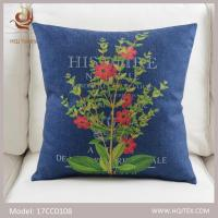 HQJ Textile hot sale custom made sublimation digital printed decorative cushion covers