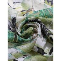 China 100% Polyester Sequined chiffon print fabric on sale