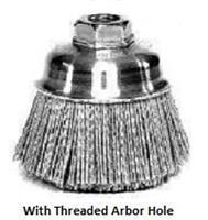 China Crimped Stainless Steel Cup Brushes wholesale