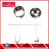 China Coffee Measure Scoop, 18/8 Stainless Steel, 1-Tablespoon Capacity 1/8 measure cup wholesale