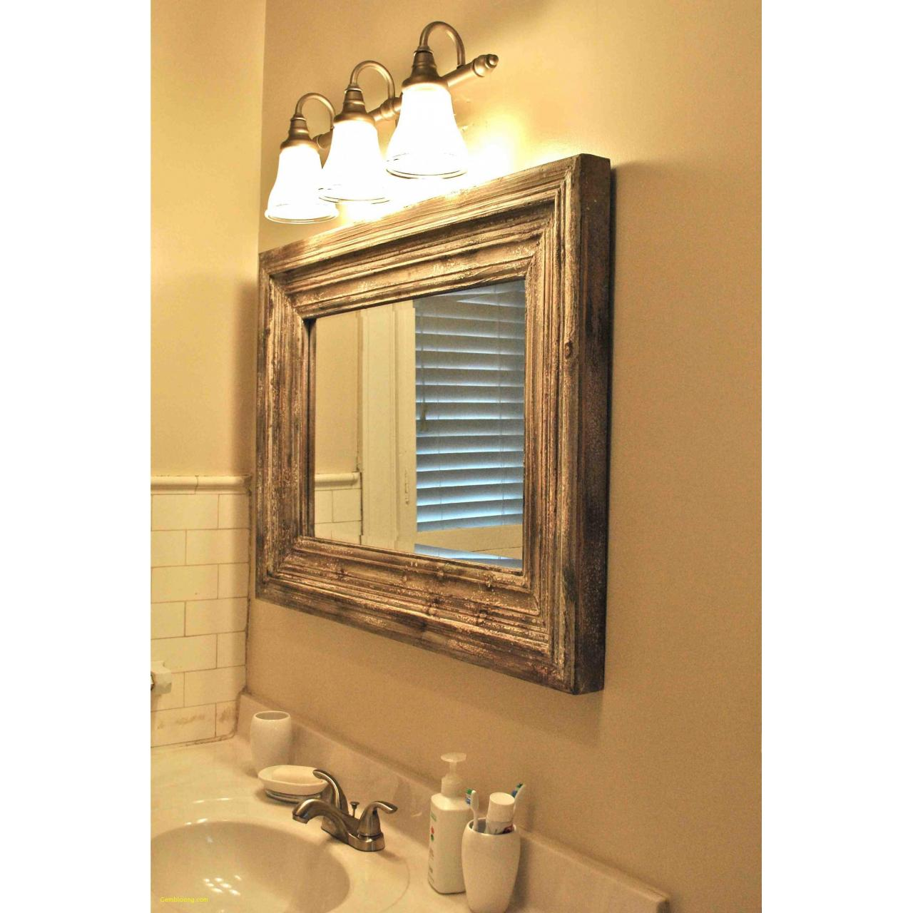 China Luxurious Lowes Bathroom Mirror Frames At Magnificent Unique on sale