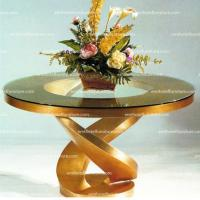 China Hotel Lobby Furniture Flower Desk Decoration Table Furniture Row on sale