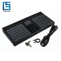 China Pos Keyboard With Magnetic Card Reader wholesale