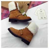 China UGG snow boots shoes fashionable women boots wholesale