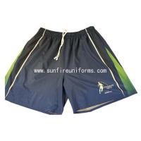 China Custom sublimation dri fit touch rugby short for rugby match wholesale