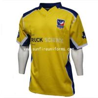 China new design custom sublimation rugby union jersey wholesale