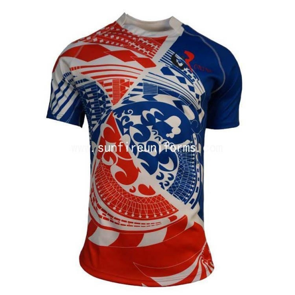 Quality Club Custom Sublimated Sport Super Rugby League Jersey Shirt for sale