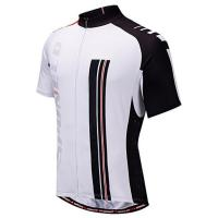 China 100%polyester moisture wicking breathable custom sublimated cycling jersey wholesale