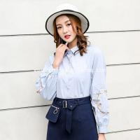 China Latest Long Sleeve Blouse Shirts Designs For Women wholesale
