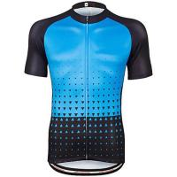 China Latest short sleeve quick dry cycling bicycle jersey wholesale